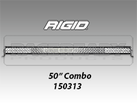 "RIGID E Series Pro 50"" LED Light Bar"