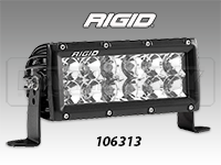 "RIGID E Series Pro 6"" LED Light Bar"
