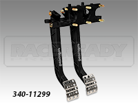 Wilwood Reverse Swing Mount Triple Brake Pedal-Long