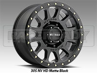 Method 305 NV-HD Matte Black Truck Wheel
