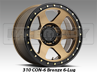 Method 310 Con 6 Bronze Truck Wheels