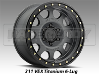 Method 311 Vex Titanium Truck Wheel