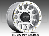 Method Wheels 401 UTV Beadlock Machined