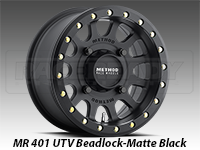 Method Wheels 401 UTV Beadlock Matte Black