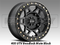 Method Wheels 405 UTV Beadlock Matte Black