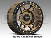 Method Wheels 405 UTV Beadlock Bronze