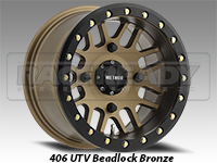 Method Wheels 406 UTV Beadlock Bronze