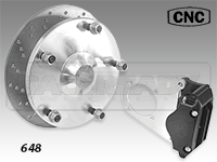 CNC Series 647-648 Rear Disc Brake Kit