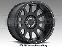 Method 605 NV Matte Black Truck Wheel