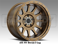 Method 605 NV Bronze Truck Wheels