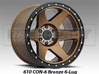 Method 610 Con 6 Bronze Truck Wheels