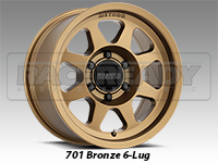Method 701 Bronze Truck Wheels