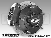 Fortin-934 375 Rear Long Travel Floater Hub Kit
