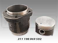 Mahle Piston & Cylinder Kits