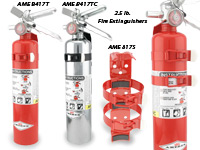 2.5lb. Fire Extinguishers