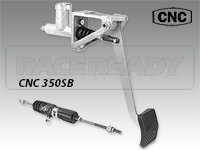 CNC Series 350 Swing Mount Clutch Pedal Package