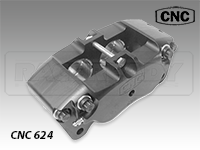CNC Series 624 Four Piston Caliper Caliper