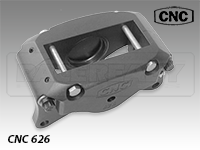 CNC Series 626 Two Piston Caliper Caliper