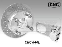CNC Series 644 Rear Disc Brake Kit