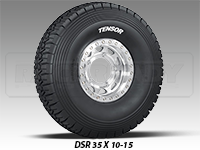 "Tensor 35"" Desert Series Tire"