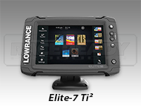 Lowrance Elite-7 Ti²  Touch Screen
