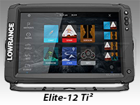 Lowrance Elite-12 Ti² Touch Screen
