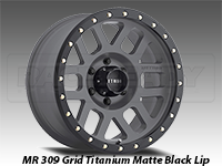 Method 309 Grid Titanium Truck Wheel
