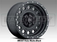 Method 307 Hole Matte Black Truck Wheel