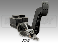 JAMAR 3000 Series Brake Pedal- Dual Rectangular Master Cylinders
