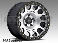 Method 105 Machined Truck Beadlock Wheels