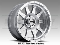 Method 301 Standard Machine Truck Wheel