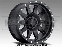 Method 301 Standard Matte Black Truck Wheel