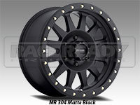 Method 304 Double Standard Matte Black Truck Wheel