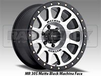 Method 305 NV Matte Black Machine Face Truck Wheels