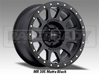 Method 305 NV Matte Black Truck Wheel