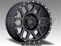 Method 306 Mesh Matte Black Truck Wheel