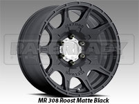Method 308 Roost Matte Black Truck Wheel