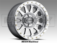 Method 304 Double Standard Machined Truck Wheels