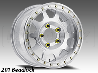 Method 201 Forged  Beadlock Truck Wheel