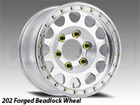 Method 202 Forged Beadlock Truck Wheel