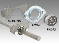 Steering Bearing wFlanges