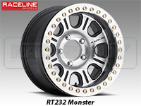 Raceline RT232 Beadlock Wheels