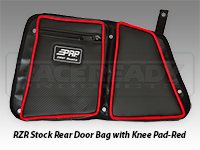 Polaris RZR Stock Rear Door Bag with Knee Pad