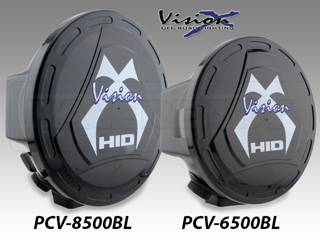 Vision X Plastic Light Covers Fit The HID 6500, Or 8500 Series Lights.