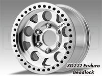 KMC XD222 Enduro Beadlock Wheels